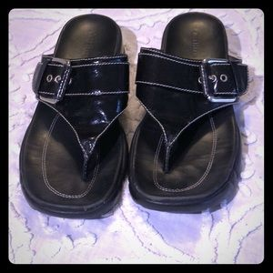 Cole Haan - sandals with Nike air soles, size 6